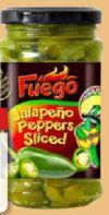 Jalapeño Peppers Sliced von Fuego