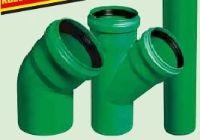Abwasserrohre und Formstücke