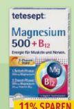 Magnesium 500 + B12 von Tetesept