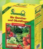 Bio Obst- und Gemüsedünger von Sonnenhof