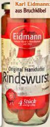 Original Frankfurter Rindswurst von Eidmann