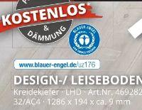 Design-/ Leiseboden