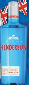 London Dry Gin von Henderson