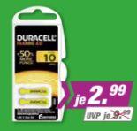 Hörgeräte-Batterie von Duracell
