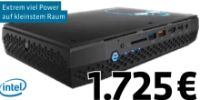 Mini PC NUC8 Home Hades Canyon von Intel