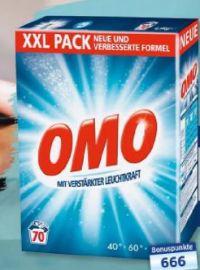 Vollwaschmittel XXL Pack von Omo