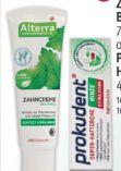 Zahncreme Bio-Minze von Alterra