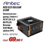 CPU-Kühler Neo Eco NE650M von Antec