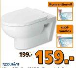 Wand-Tiefspül-WC Durastyle von Duravit