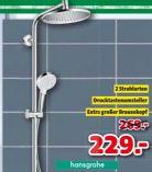 Überkopfbrause-Set Crometta S 240 Showerpipe Reno von Hansgrohe