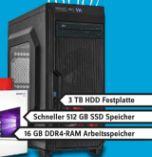 Gaming PC ViperTeq VT-GAPC-Ryzen 7-512GB-3TB von AMD