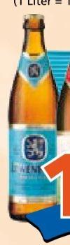 Bier von Löwenbräu