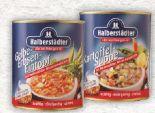 Suppen von Halberstädter