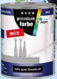 Premiumfarbe Mix von Farben Profi