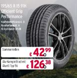 195/65 R 15 91H Efficient Grip Performance von Goodyear