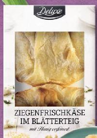 Ziegenfrischkäse im Blätterteig von Deluxe