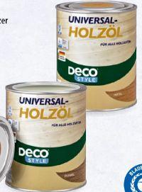 Universal-Holzöl von Deco Style