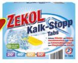 Kalk-Stopp Tabs von Zekol