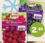 Bio Früchte von Soto