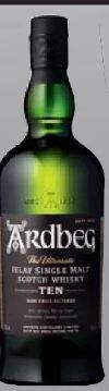 Islay Single Malt Scotch Whisky von Ardbeg