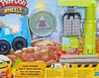 Kran und Gabelstapler von Play Doh