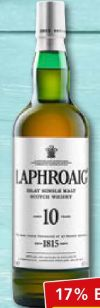 Quarter Cask Scotch Whisky von Laphroaig