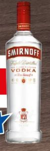 Vodka Red Label von Smirnoff