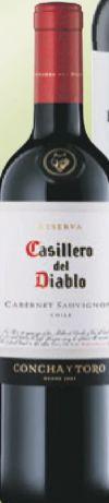 Casillero del Diablo Cabernet Sauvignon von Concha y Toro