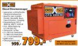 Stromerzeuger Diesel von Cross Tools