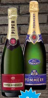 Champagner Cuveé Brut von Piper Heidsieck
