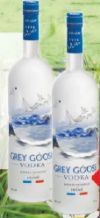 Vodka von Grey Goose