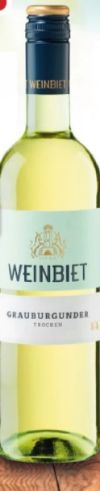 Grauburgunder von Winzergenossenschaft Weinbiet