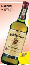 Irish Whiskey von Jameson