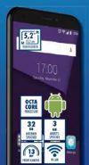 Smartphone Blade A6 von Zte