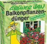 Balkonpflanzendünger von Grüner Jan