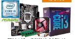 Aufrüstkit Core i3 8100 von Intel