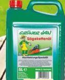 Sägekettenöl von Grüner Jan