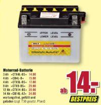 Motorrad-Batterie