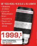 Objektive EF 100-400 von Canon