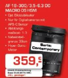 Objektiv AF 18-300/3.5-6.3 DC Macro OS HSM von Sigma