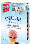 Decor on Ice Waffelbecher von DeBeukelaer