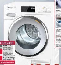 Wärmepumpentrockner TWF 500 WP EditionEco von Miele