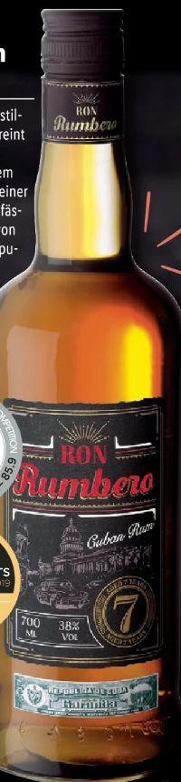 Kubanischer Rum von Ron Rumbero