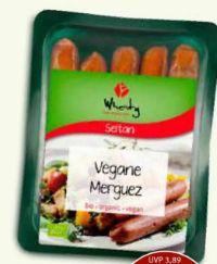 Veganwurst Merguez von Topas Wheaty