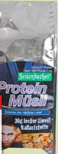 High Protein Müsli von Seitenbacher