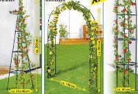 Dekorative Rankhilfen von Powertec Garden
