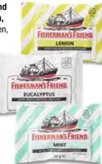 Menthol-Pastillen von Fisherman's Friend