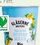 Bio-Buttermilch von Gläserne Molkerei