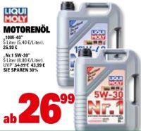 Motorenöl 10W-40 von Liqui Moly