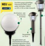 Solar-Leuchtkugel von Livarno Lux